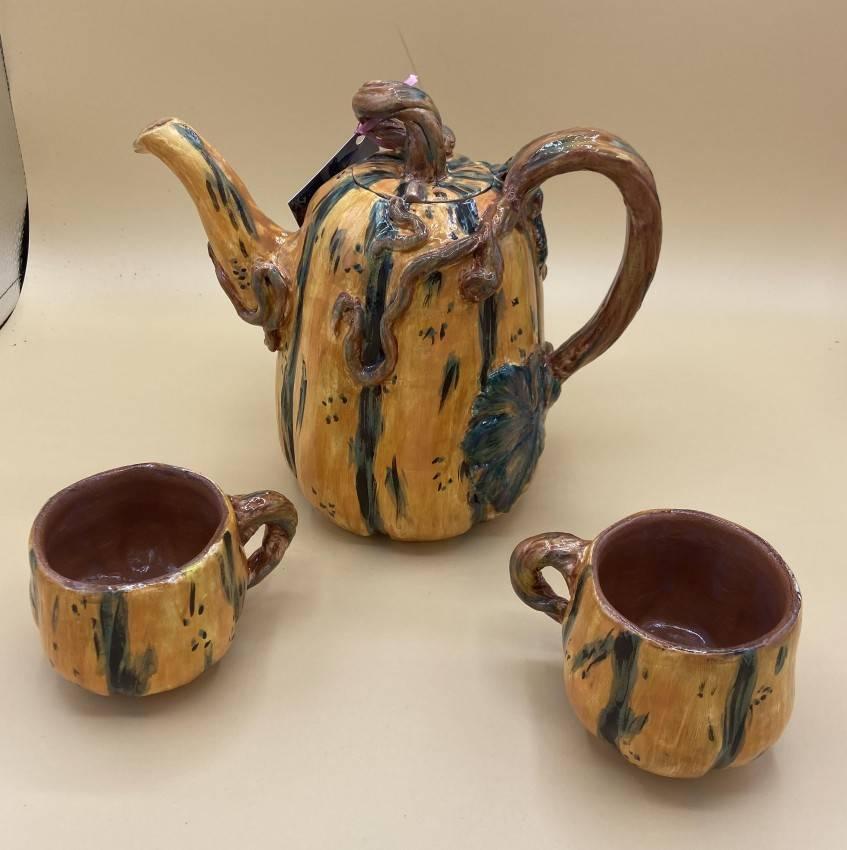 Squash Tea Pot Set