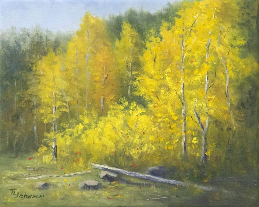Aspen Dance in Yellow