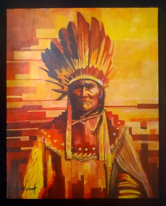 Goyahkla (The One Who Yawns / AKA Geronimo