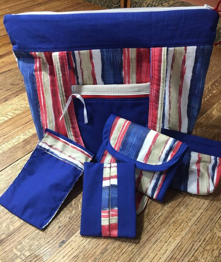 Purse Set #4 – Patriot Striped