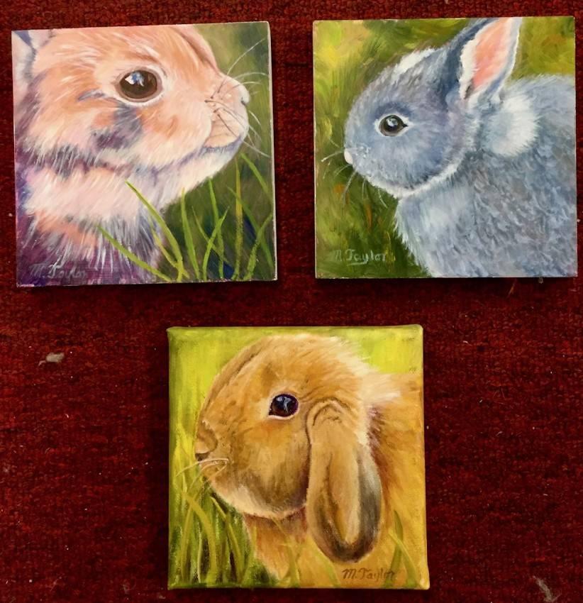 Bunnies Trio