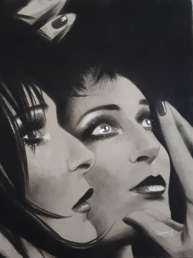 Siouxsie Sioux Reflection
