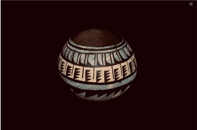 Southwest Gourd Pot