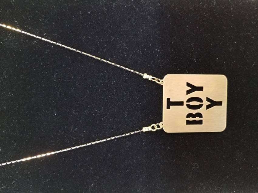 Boy Toy pendant