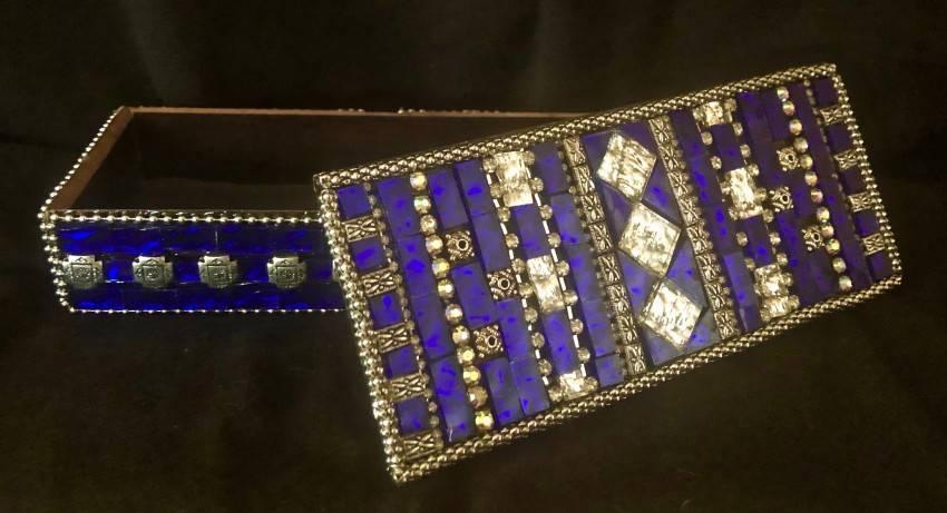 Sapphire Jewelry Box