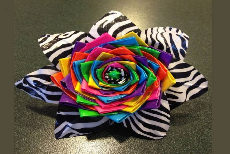 Ductape Flower