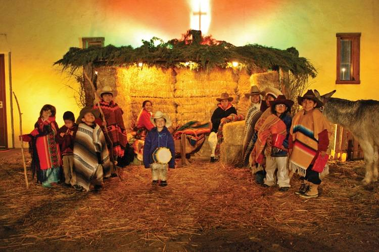 Live Navajo Nativity