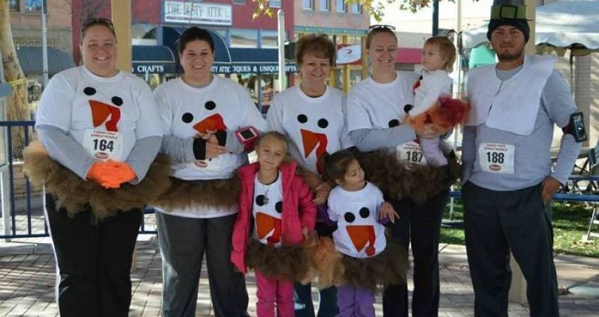 Turkey Trot and Gobble Wobble