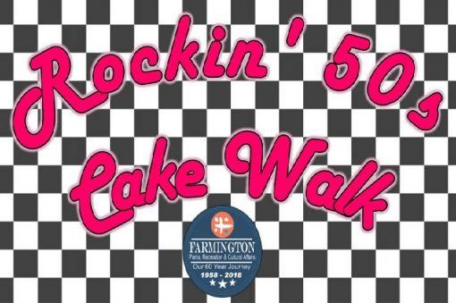 Rockin' the 50s Cake Walk
