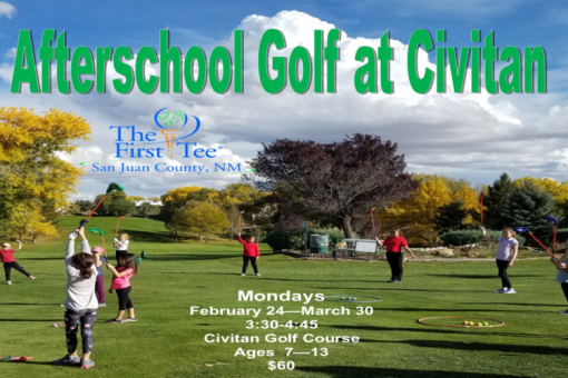 Afterschool Golf at Civitan