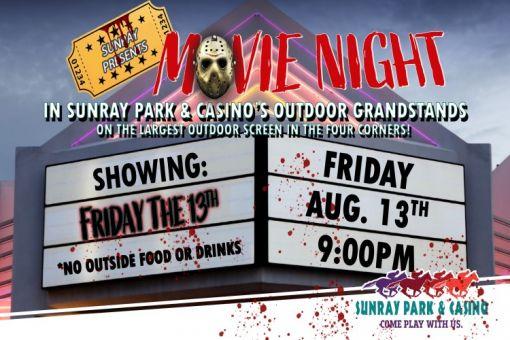Movie Night at Sunray Park & Casino