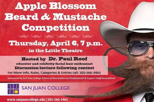 Apple Blossom Beard and Mustache Competition