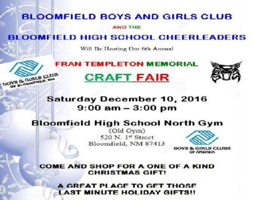 Bloomfield Craft Fair