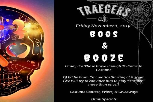 Boos & Booze Halloween Party