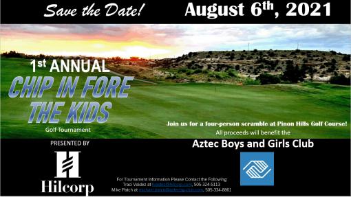 Chip in Fore the Kids Golf Tournament