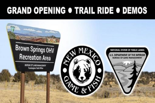 Brown Springs OHV Recreation Area Grand Opening