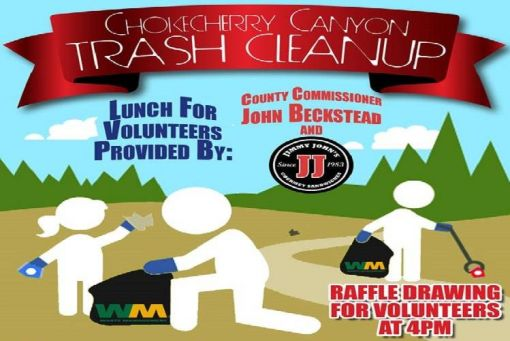 Chokecherry Trash Cleanup
