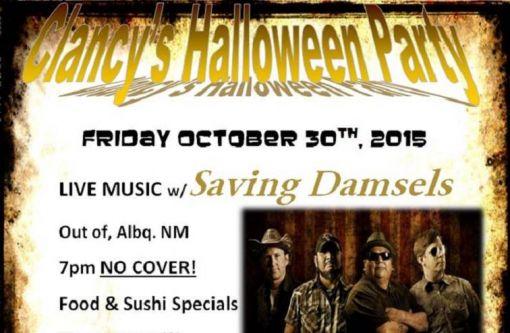 Clancy's Halloween Party