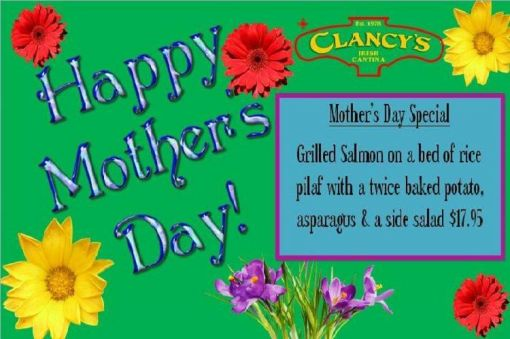 Mother's Day at Clancy's