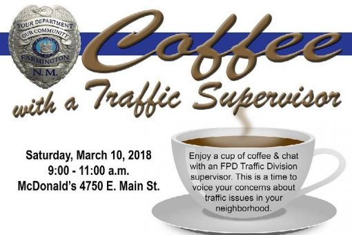 Coffee with a Traffic Supervisor