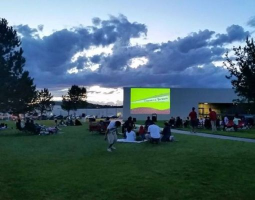 San Juan College Outdoor Movie Night