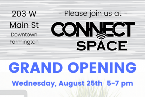 Connect Space Grand Opening