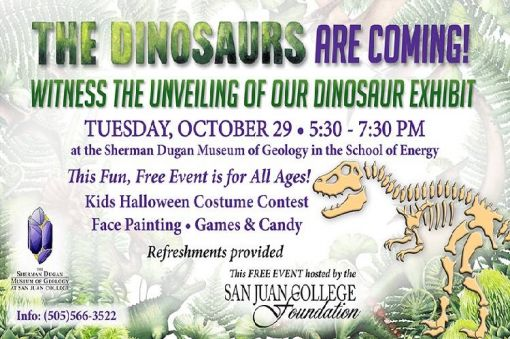 The Dinosaurs are Coming!