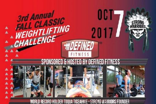 Annual Fall Classic Weight Lifting Challenge