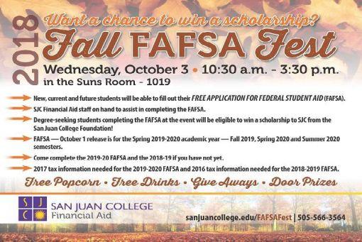 Fall FAFSA Fest