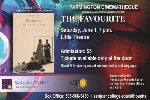 Farmington Cinematheque Series: The Favourite