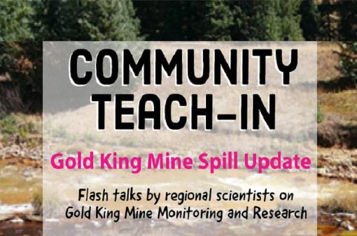 Gold King Mine Spill Update Teach-In