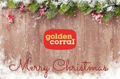 Golden Corral Christmas Dinner