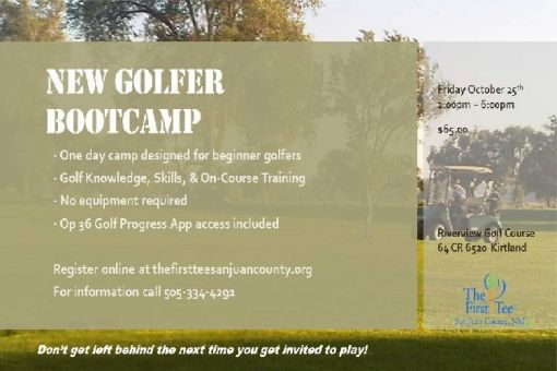 New Golfer Bootcamp for Adults