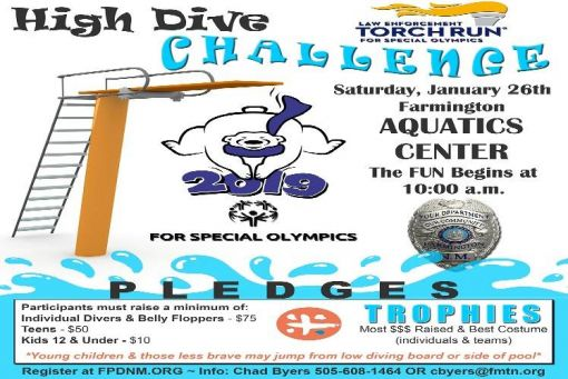 Law Enforcement Torch Run High Dive Challenge