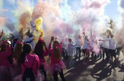 Hustle Up and Run 5K Color Run