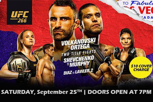UFC in The Sportz Arena