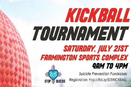 Suicide Prevention Kickball Tournament