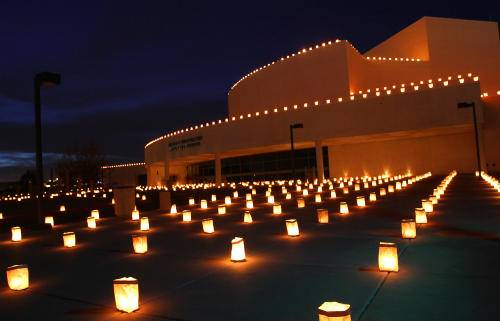 San Juan College Luminarias