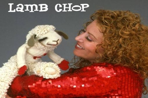 Mallory Lewis with Lamb Chop