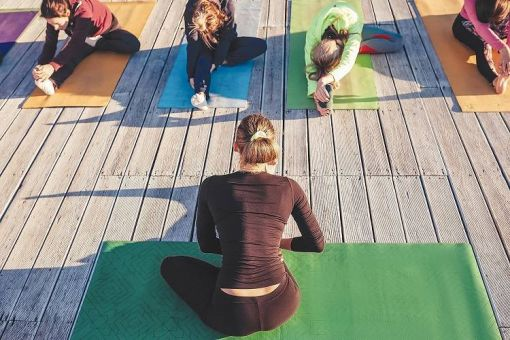 Lift Each Other Up -Yoga On the Patio