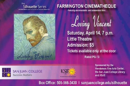 Farmington Cinematheque Series presents Loving Vincent