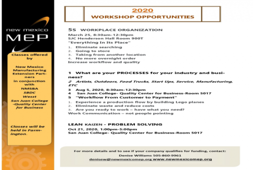 5S Workplace Organization Workshop