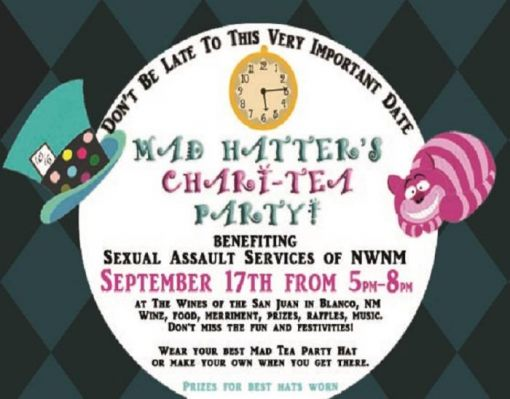 Mad Hatter's Chari-Tea Party!