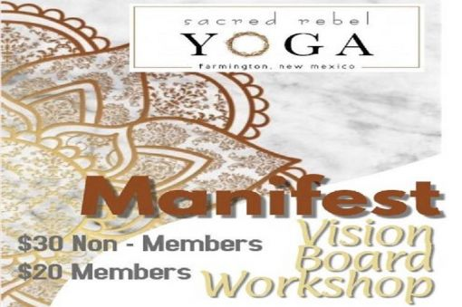 MANIFEST - a vision board workshop