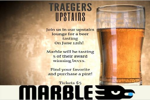 Marble Beer Tasting