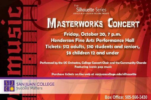 San Juan College Masterworks Concert