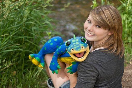 Ventriloquist Meghan Casey