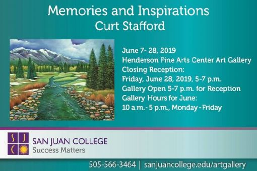 Memories and Inspirations Art Exhibit