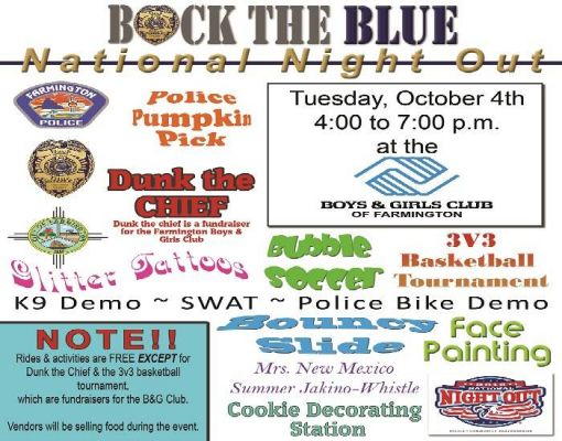 Back the Blue National Night Out