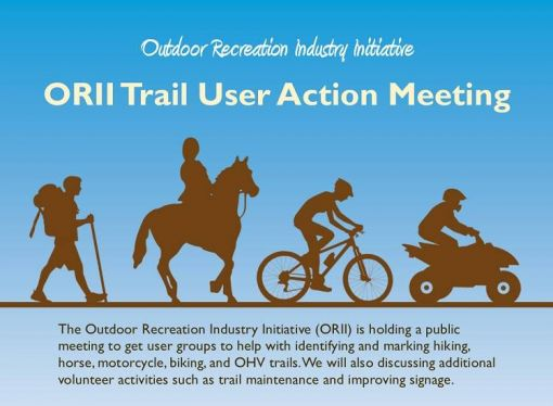 ORII Trail User Action Meeting